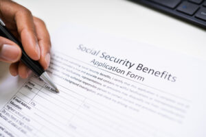 Social Security Benefits Application Form